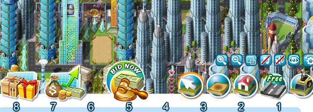 Millionaire City Navigation