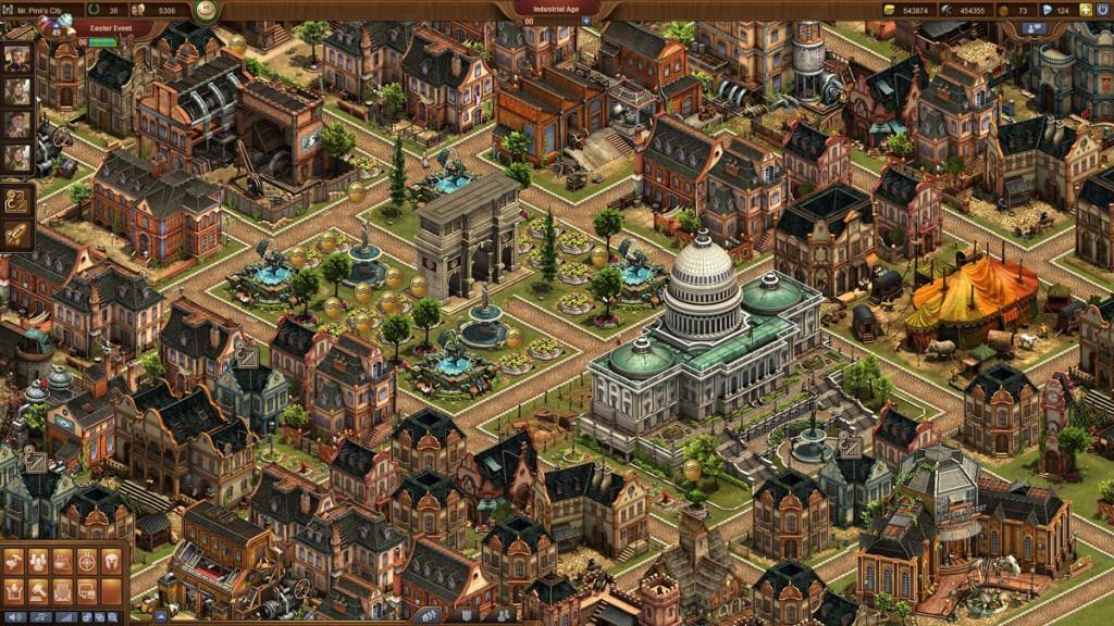 Forge of Empires - Detailreiche Grafik