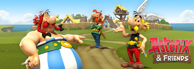 Asterix and Friends spielen