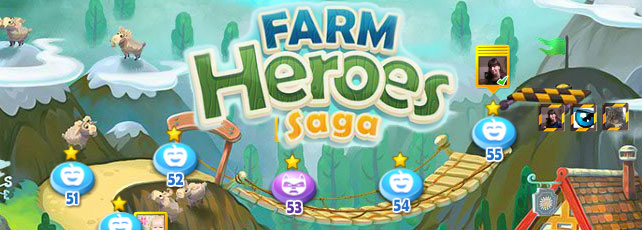 Farm Heroes Saga Tipps Level 51 bis 60