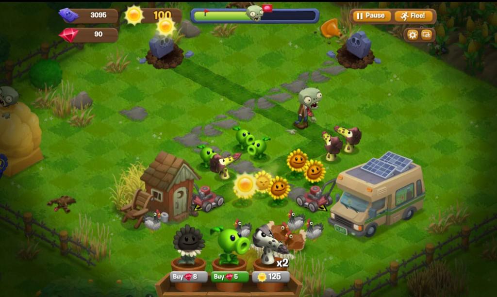 plants vs zombie kostenlos spielen