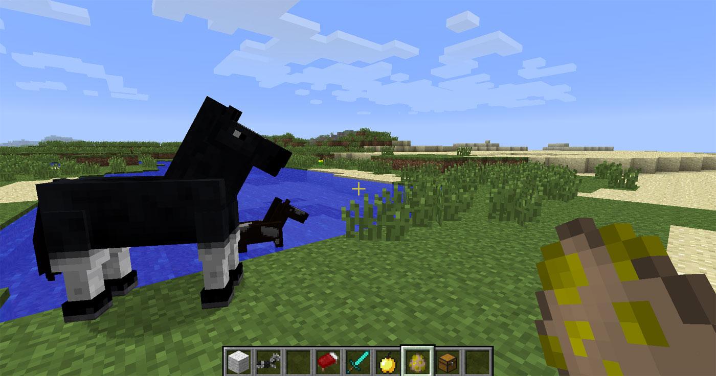 Minecraft Pferde Im Test Der Erste Ritt Auf Dem PixelGaul - Minecraft spiele mit pferden