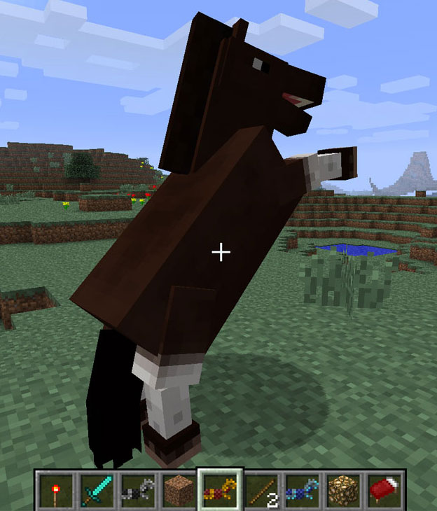 Minecraft Pferde Im Test Der Erste Ritt Auf Dem PixelGaul - Minecraft pferde spiele