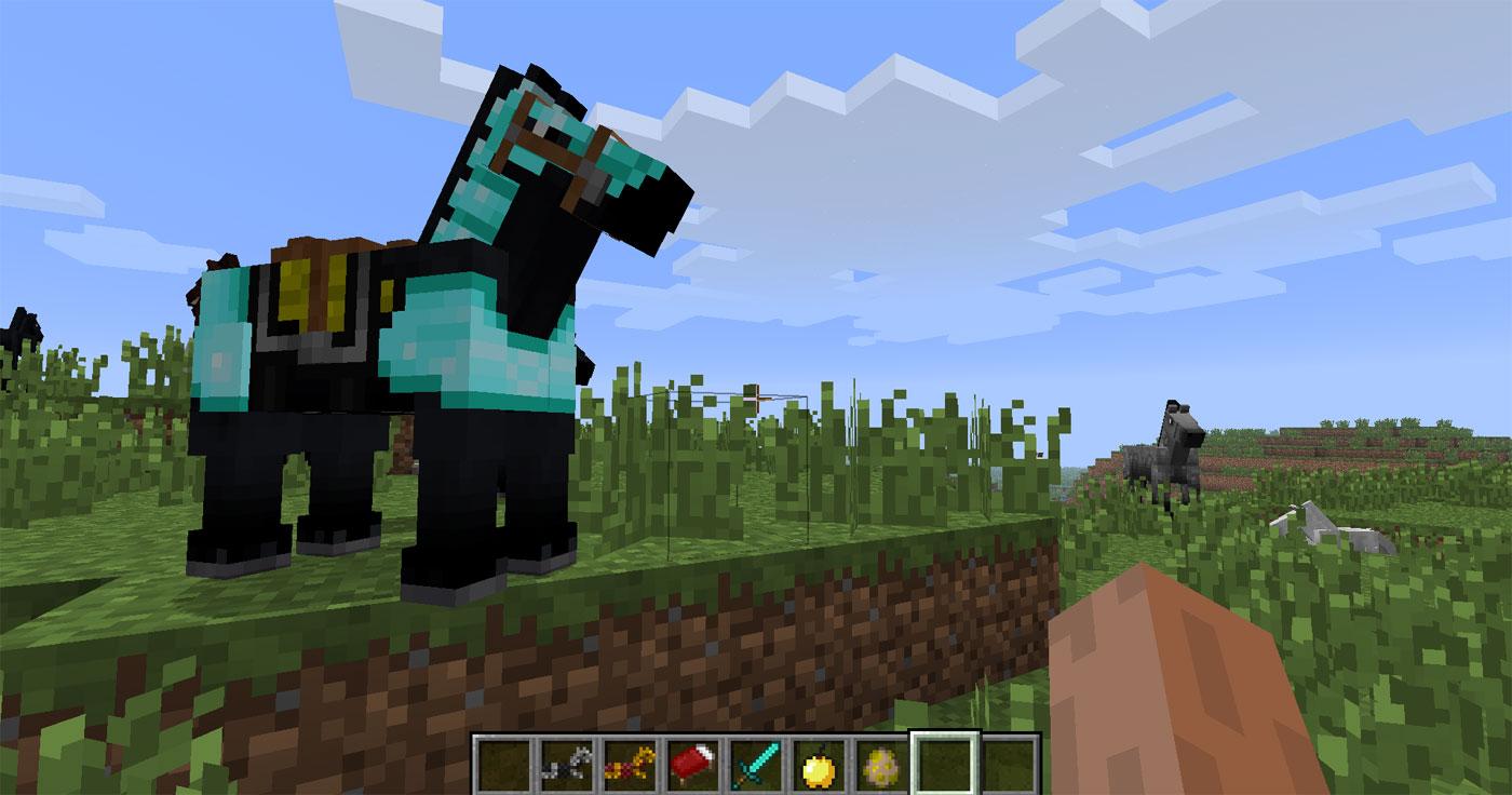 Minecraft Pferde Im Test Der Erste Ritt Auf Dem PixelGaul - Minecraft mit tieren spielen