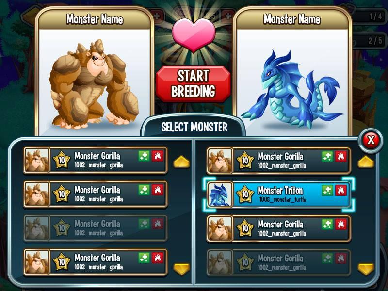 Monster Legends Zucht Tipps