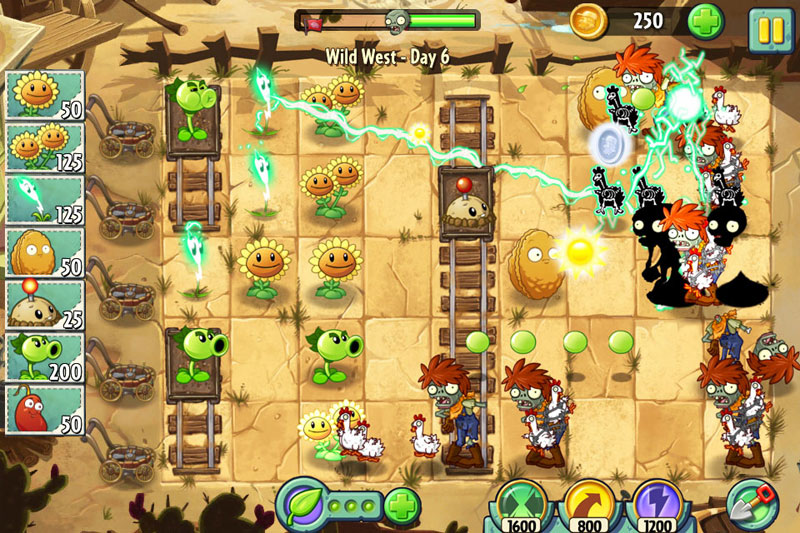 plants vs zombies 2 spielen