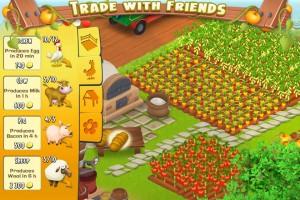 Hay Day spielen - Handel mit Freunden