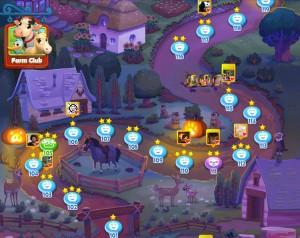Farm Heroes Saga Halloween Screenshot