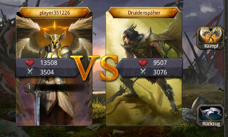 Helden von Camelot Screenshot