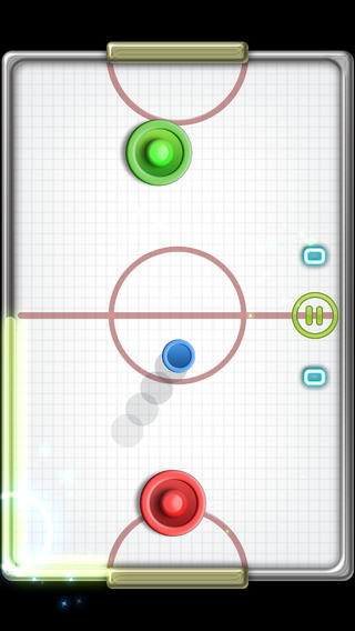 glow hockey 2 screenshot