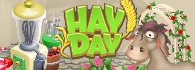 Hay Day Smoothiemixer Titel