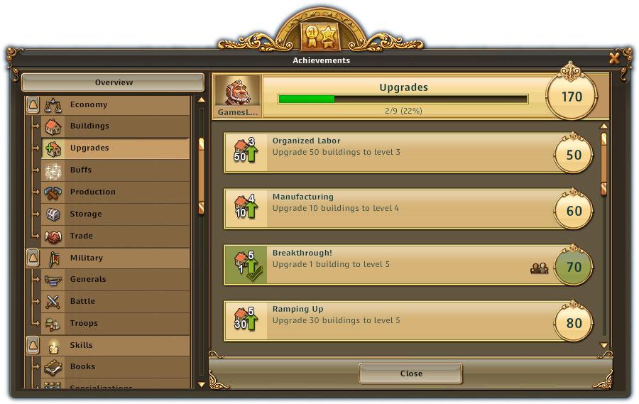die siedler online erfolgssystem screen1