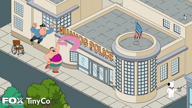 family guy mobile game screenshot 1