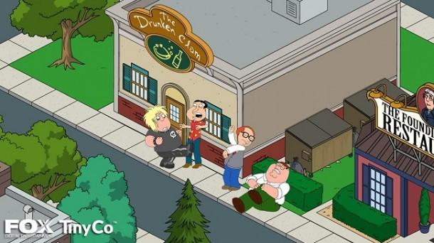family guy mobile game screenshot 2