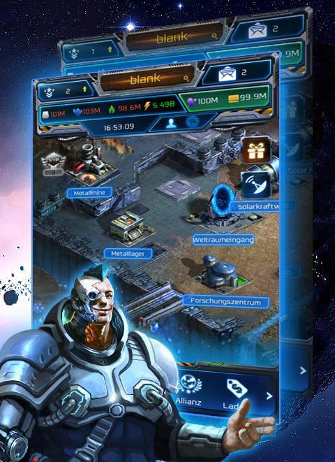 galaxy empire screenshot