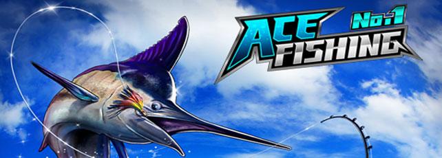 Ace Fishing Wild Catching titel