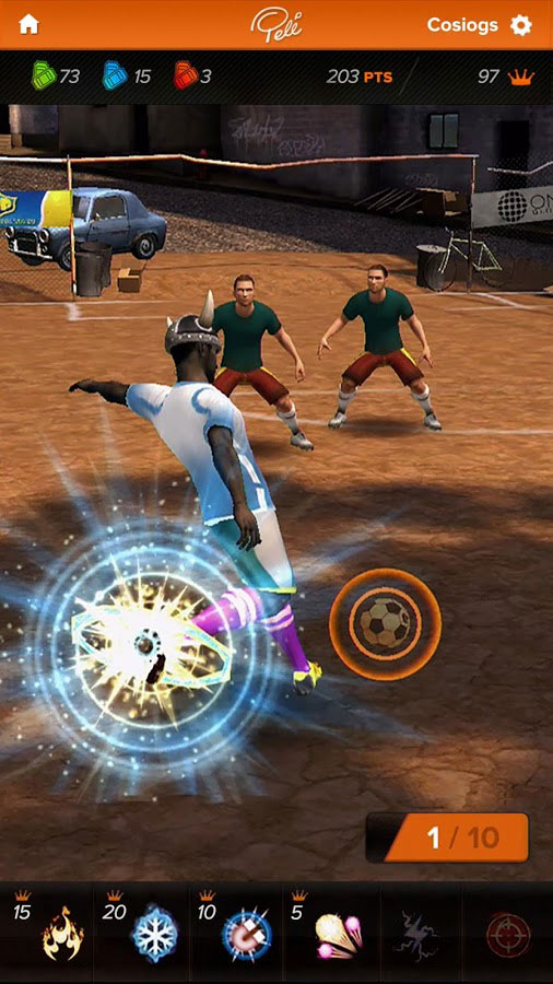 Pelé King of Football screenshot