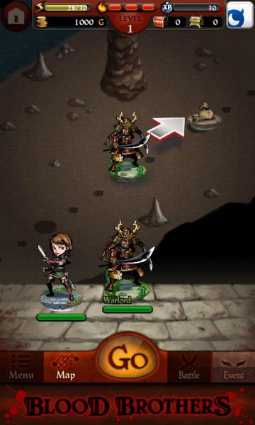 blood brothers screenshot