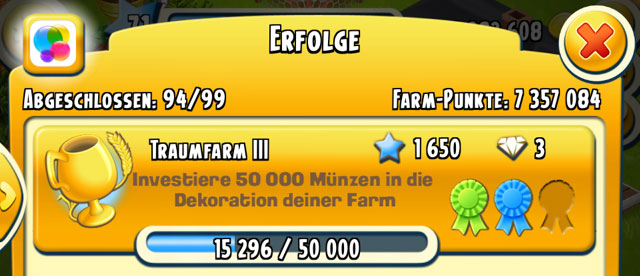 Hay Day Diamanten