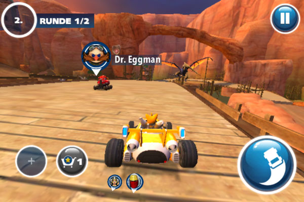 Sonic & All-Stars Racing Transformed spielen