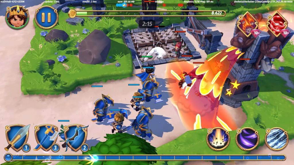 Royal Revolt 2 für Windows Phone und PC