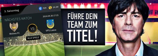 Goal One - Der Fussball Manager