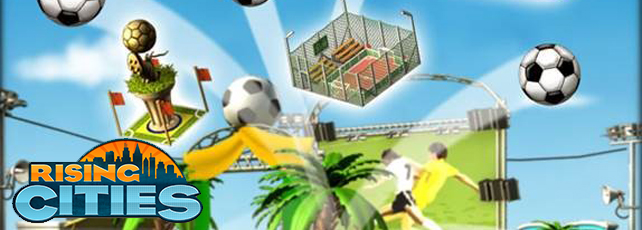 Rising Cities Fußballparty Titel