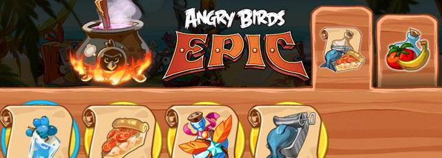 Angry Birds Epic Tränke Titel