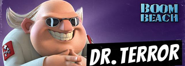 Boom Beach Dr. Terror Titel