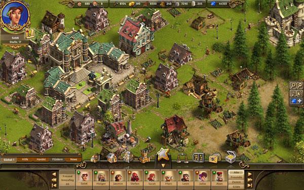 Browsergames Die Siedler Online