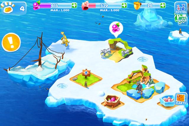 Ice Age Ressourcen