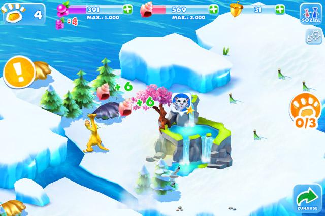 Ice Age Adventures Ressourcen