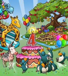 ZooMumba Geburtstagsfeier