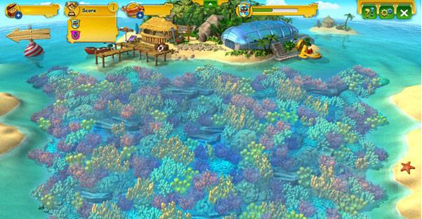 Korallenriff ökosystem
