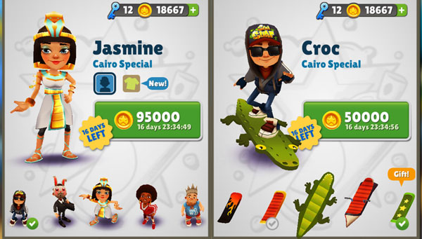 Subway Surfers Kairo
