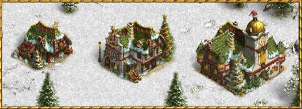 Die Siedler Online Weihnachtsevent Screenshot