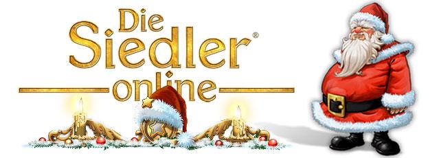 Die Siedler Online Weihnachtsevent Titel