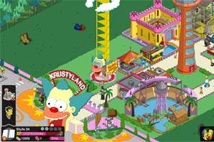 Die Simpsons Springfield Krustyland Header