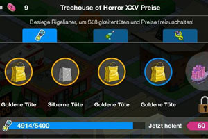 Die Simpsons Springfield Treehouse of Horror XXV Ingame