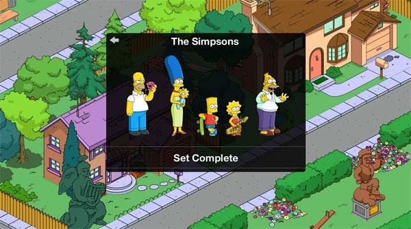 Simpson Springsfield Donuts Screenshot