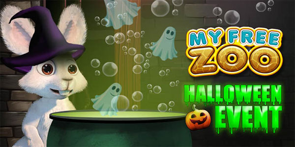 Upjers Halloween Event My Free Zoo Screen