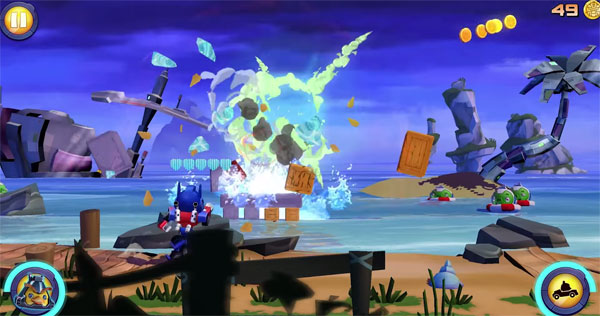 Angry Birds Transformers Währungen Screen