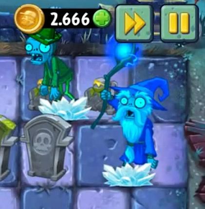 Plants vs. Zombies 2 Mittelalter