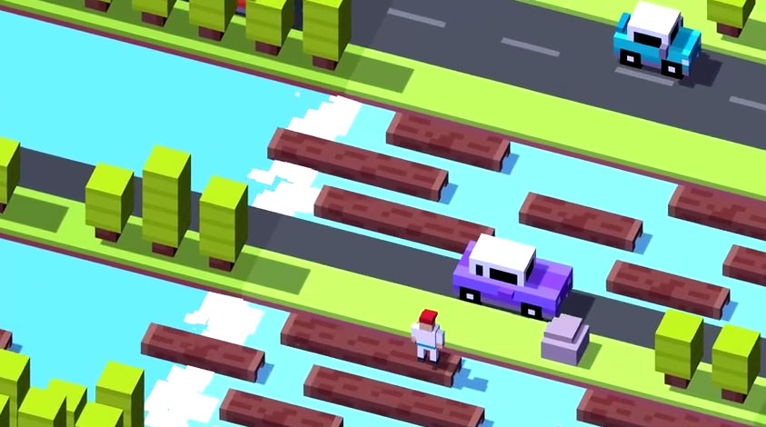 Crossy Road Für Android Jetzt Kostenlos Spielen - Minecraft kostenlos spielen android