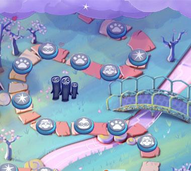 Bubble Witch Saga 2 Valentinstag Screenshot