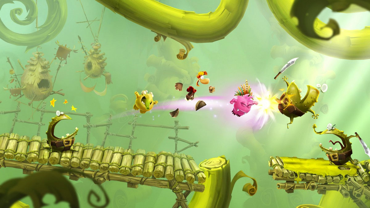 rayman adventures spielen jump n run f r ios android. Black Bedroom Furniture Sets. Home Design Ideas