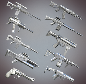 afterpulse chrome waffen