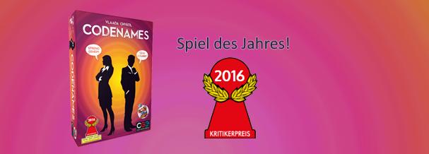 Gewinner zum Spiel des Jahres 2016