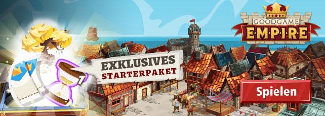 Goodgame Empire: Exklusives Starterpaket sichern