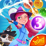 Angesagte Apps -Bubble Witch Saga 3